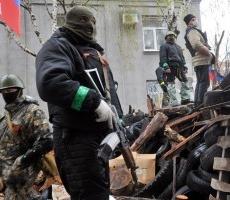 Украинские силовики заявляют о зачистке Славянска