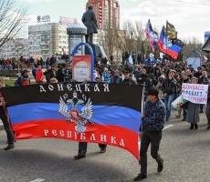 На Донбассе идет мобилизация сторонников федерализации