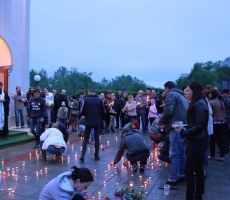 В Тирасполе почтили память погибших в Одессе