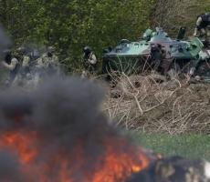 Миноброны Украины: за прошедшие сутки в Славянске среди силовиков потерь нет