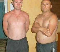 Украинских пограничников раздели в Приднестровье