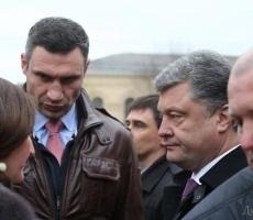 Одессу посетили Порошенко и Кличко