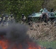 Ночью украинскую границу со стороны России пересекла группа вооруженных неизвестных