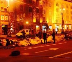 Майдан сворачивает палатки и баррикады