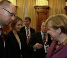 Сегодня Арсений Яценюк встречается с Ангелой Меркель в Германии