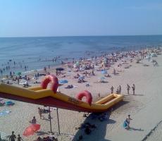 Одесское побережье открывает курортный сезон