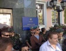 Штурм погранслужбы в Киеве был отбит брандспойтом