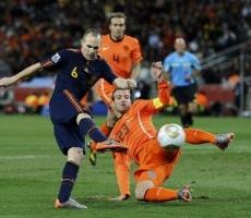 Испания - Голландия: счет 1-5