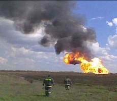 Взрыв газопровода усугубил отношения Украины и России