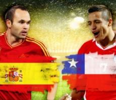 Сборная Чили громит Испанию