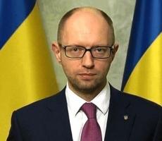 Премьер Украины Яценюк поздравил украинцев с Днем Конституции