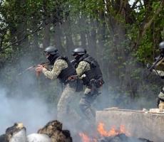 Военнослужащие АТО в Украине получили статус участников боевых действий