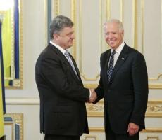 Джозеф Байден: США поддерживают подход Петра Порошенко
