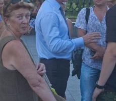 Мэр Одессы проводит уличные встречи с горожанами