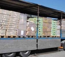 Киев отправил на Донбасс гуманитарную помощь
