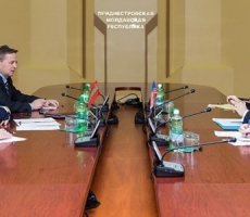 Евгений Шевчук и Уильям Мозер встретились в Тирасполе