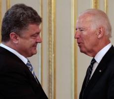 Петр Порошенко провел телефонные переговоры с Джозефом Байденом