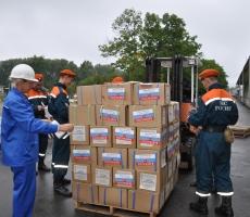 Российская гуманитарная помощь поступит в Украину в ближайшие сутки