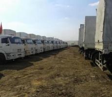 Сегодня ожидают проход российского гумконвоя на Донбасс