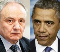 Барак Обама поздравил Президента Молдовы с Днем Независимости республики