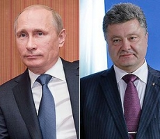 О чем говорили Владимир Путин и Петр Порошенко на встрече в Минске?