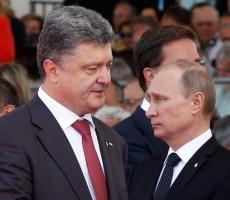 Петр Порошенко и Владимир Путин договорились о постоянном прекращении огня