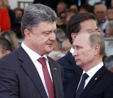 Петр Порошенко провел телефонные переговоры с Владимиром Путиным