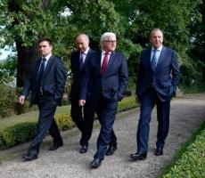 Сегодня в Минске проходит очередной раунд консультаций четырёхсторонней группы по Украине