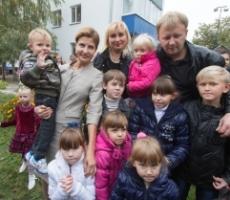 Первая Леди Украины посетила Киевский областной центр социально-психологической реабилитации «Отчий дом»