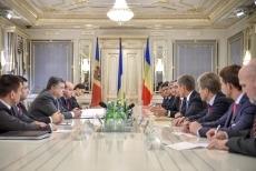Петр Порошенко провел встречу с Премьерами Румынии и Молдовы