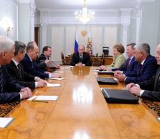 Сегодня на Совете безопасности России обсудили ситуацию на юго-востоке Украины