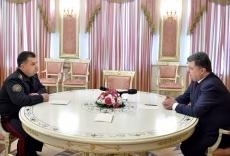 Петр Порошенко внес на рассмотрение ВР свою кандидатуру на должность Министра обороны