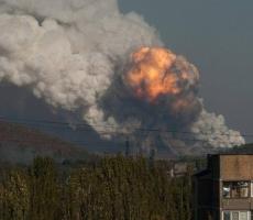 В Донецке раздался мощнейший взрыв