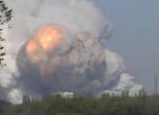 В Донецке раздался очередной мега взрыв