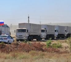 Очередную партию российской гуманитарной помощи получат жители Донбасса