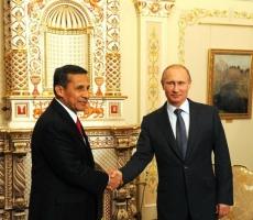 Владимир Путин провел встречу с президентом Перу