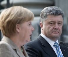 Петр Порошенко и Ангела Меркель обсудили ситуацию на Донбассе