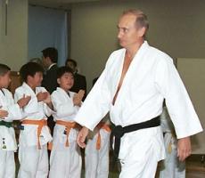 Владимир Путин получил восьмой дан по каратэ