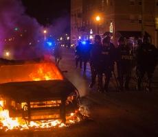 США накрыла волна беспорядков