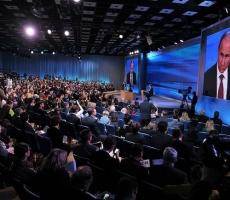 18 декабря состоится ежегодная пресс-конференция Президента Владимира Путина