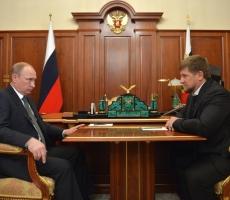 Владимир Путин поблагодарил Рамзана Кадырова за оперативную работу в нейтрализации террористов