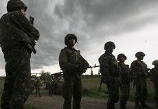 Украина объявила о прекращении огня