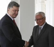 Петр Порошенко встретился с Президентом Сингапура