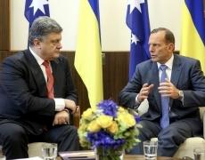 Петр Порошенко совершил официальный визит в Австралию
