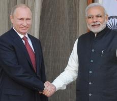 Владимир Путин: у России с Индией общие интересы
