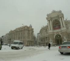 Снежная катастрофа в Одессе