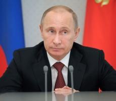 Владимир Путин поздравил с наступающим Новым Годом всех глав стран мира