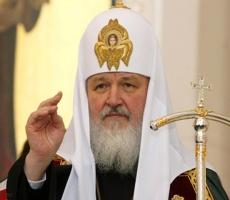 Патриарх Кирилл: Христос родился — и мир обрел надежду