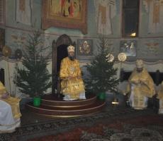 В рождественскую ночь во всех Храмах Приднестровья прошло служение Божественной литургии