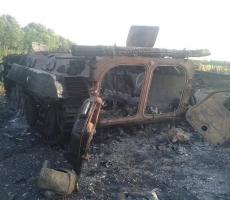На Донбассе начались бои с применением тяжёлой техники